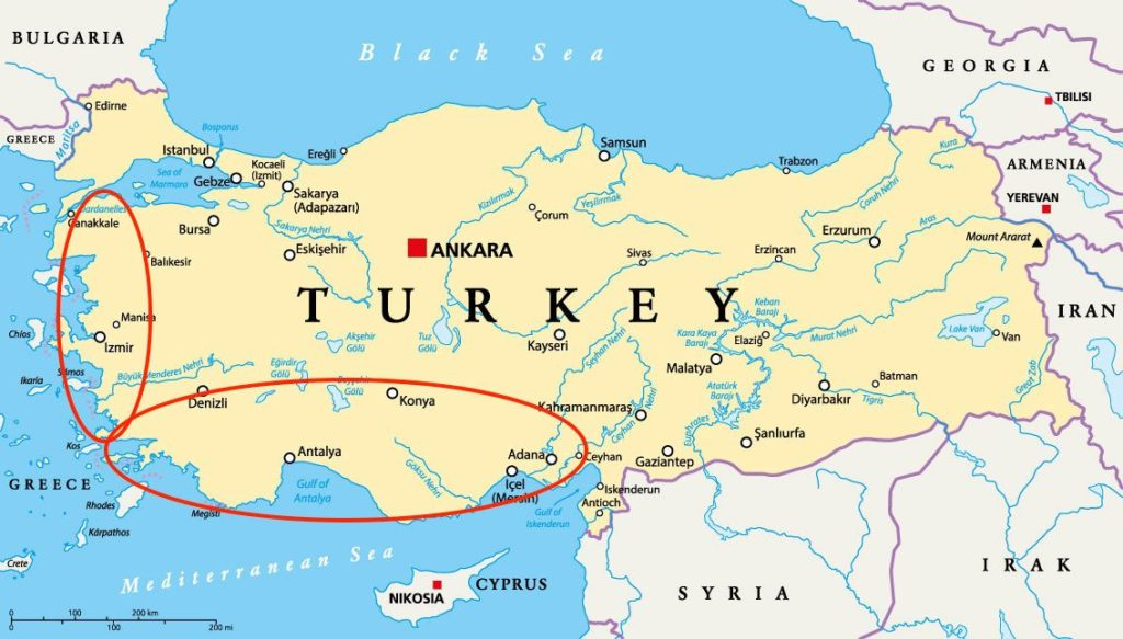 Reis voordelig naar Turkije met Corendon Turkije lastminutes